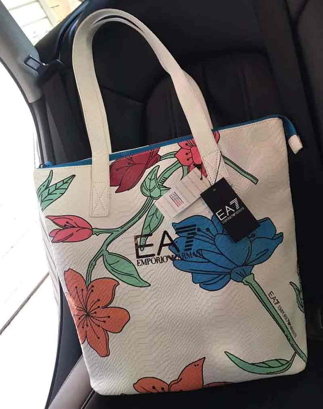 Jual EMPORIO ARM4NI Flory Totebag JR30| Supplier Reseller & Dropshipper
