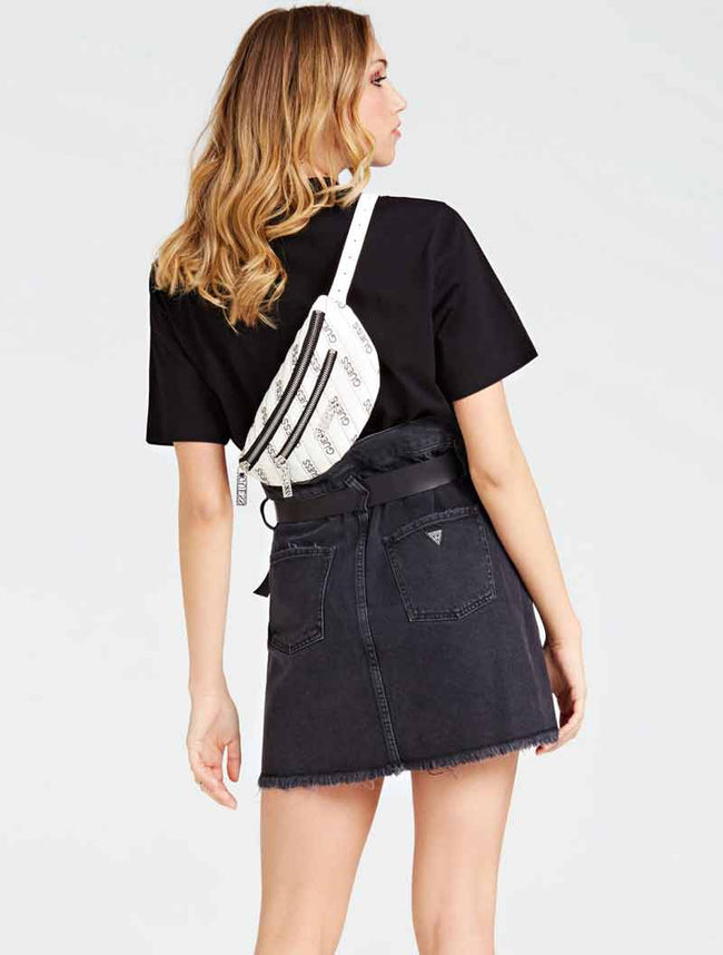 Recommended! GUES5 Ronnie Waistbag OX01
