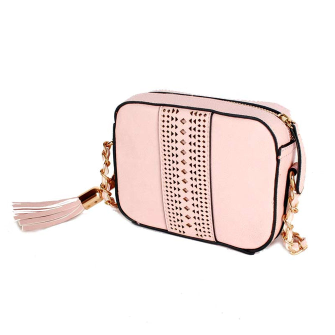 LS - UK Brand - Pink Accessorize Sling Bag Wanita JQ6