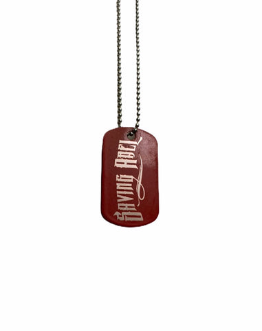 Saving Abel Red Dog Tag
