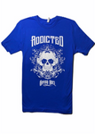 Addicted Blue Tee