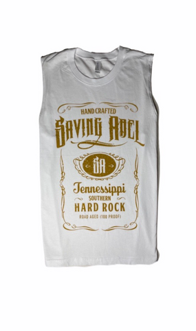 Saving Abel White Sleeveless