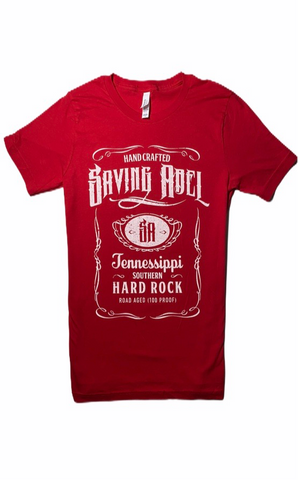 Saving Abel Red Tee