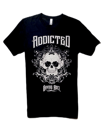 Addicted Black Tee