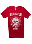 Addicted Red Tee