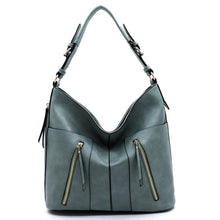 Load image into Gallery viewer, Zipper Shoulder Hobo (3 Colors) - CeCe Fashion Boutique