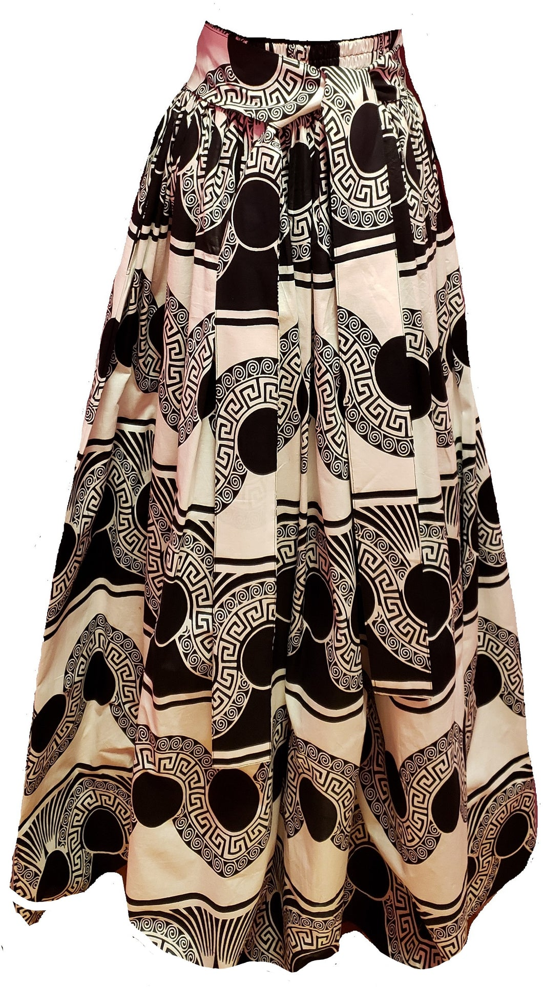 Ciara Maxi Ankara Wax Cotton Skirt - CeCe Fashion Boutique