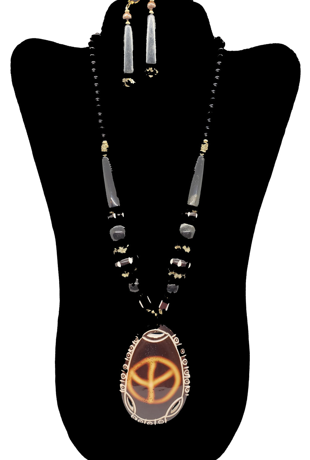 African Necklace & Earrings Set - 2 - CeCe Fashion Boutique