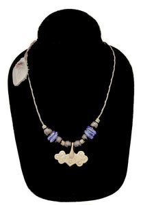 Authentic Leather / Bronze Necklace - 7 - CeCe Fashion Boutique