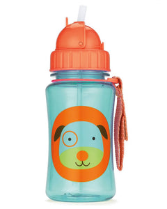 Skip Hop Kids Straw Bottle - Dog - CeCe Fashion Boutique