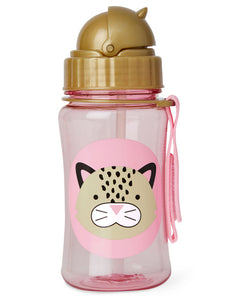 Skip Hop Kids Straw Bottle - Leopard - CeCe Fashion Boutique