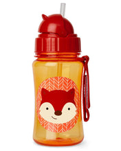 Load image into Gallery viewer, Skip Hop Kids Straw Bottle - Fox - CeCe Fashion Boutique