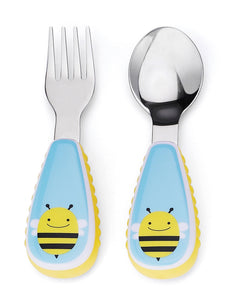 Skip Hop Kids Utensils - Bee - CeCe Fashion Boutique