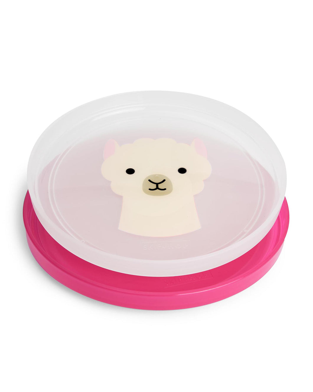 Skip Hop Smart Serve Non-Slip Plates - Llama - CeCe Fashion Boutique