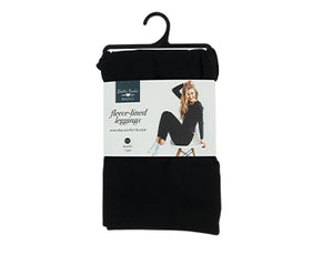 Britt's Knits Fleece Lined Leggings (Black) - CeCe Fashion Boutique