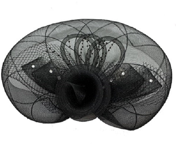 Fascinator - Black - CeCe Fashion Boutique