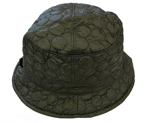 Solid Color Quilted Bucket Hat - Black - CeCe Fashion Boutique
