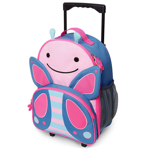 Skip Hop Zoo Kids Rolling Luggage - Butterfly - CeCe Fashion Boutique