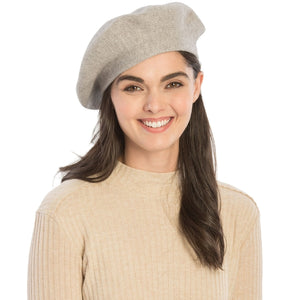 Stretchy Knitted Beret (4 Colors) - CeCe Fashion Boutique