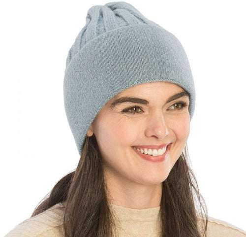 Solid Color Knit Beanie - CeCe Fashion Boutique