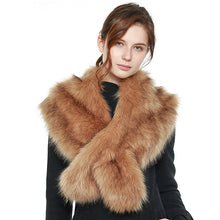 Load image into Gallery viewer, Faux Fur Shawl Scarf with Slit (4 Colors) - CeCe Fashion Boutique
