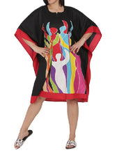 Load image into Gallery viewer, Caftan Short Dress with Headwrap - CeCe Fashion Boutique