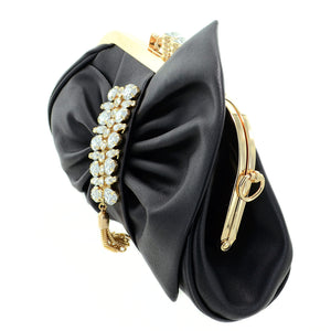 Crystal Deco Bow - Black - CeCe Fashion Boutique