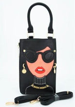 "Load image into Gallery viewer, ""Diva"" Clutch Shoulder Novelty Bag - CeCe Fashion Boutique"