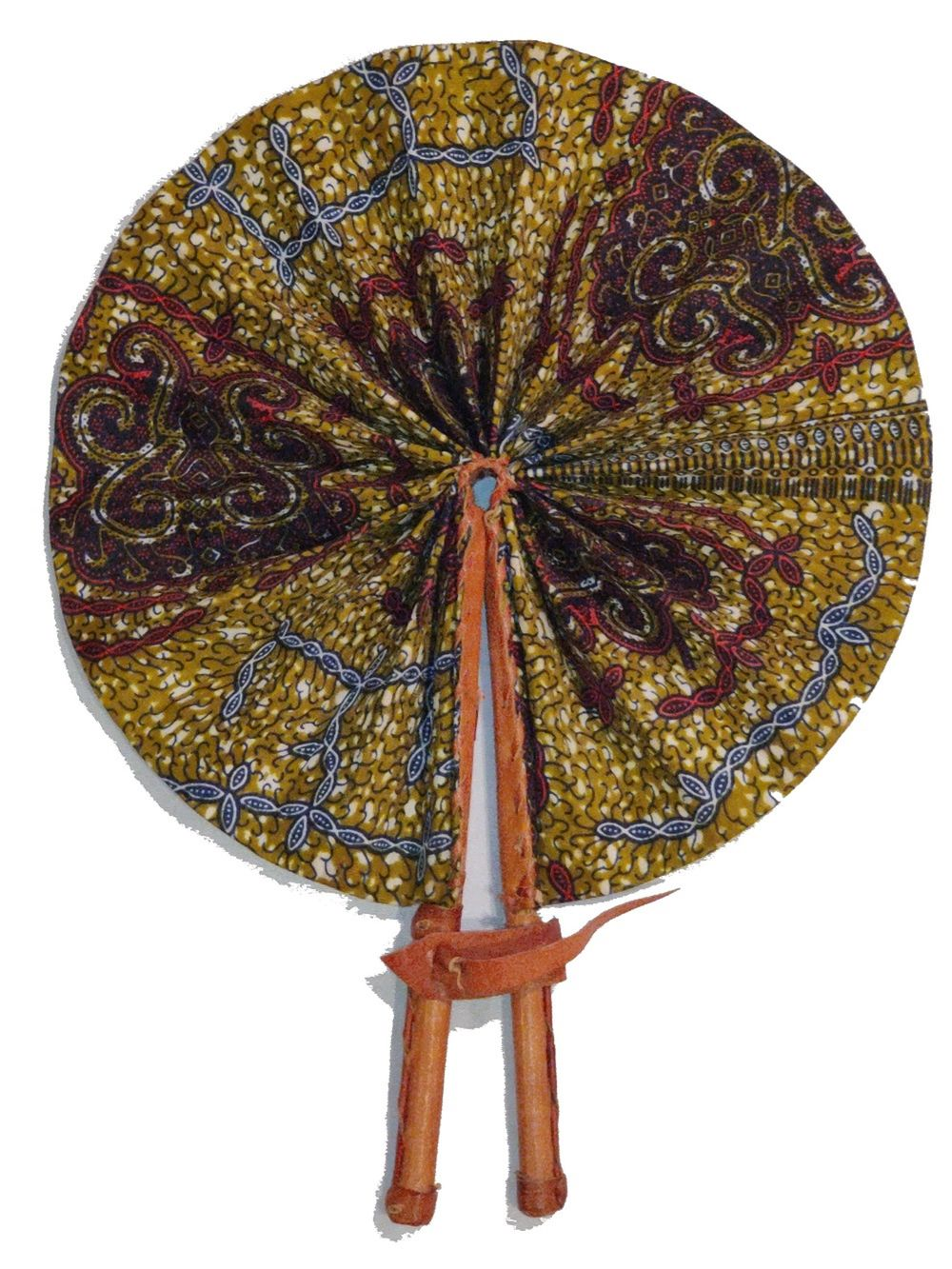 Handmade African Vintage Straw Fan - FN0001 - CeCe Fashion Boutique