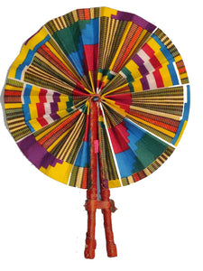 Handmade African Vintage Straw Fan - FN0002 - CeCe Fashion Boutique