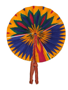 Handmade African Vintage Straw Fan - FN0003 - CeCe Fashion Boutique