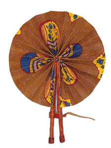 Handmade African Vintage Straw Fan - FN0004 - CeCe Fashion Boutique