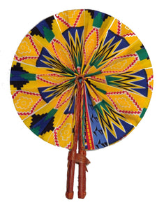 Handmade African Vintage Straw Fan - FN0005 - CeCe Fashion Boutique