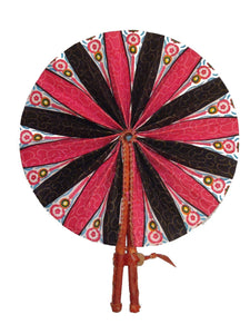 Handmade African Vintage Straw Fan - FN0006 - CeCe Fashion Boutique