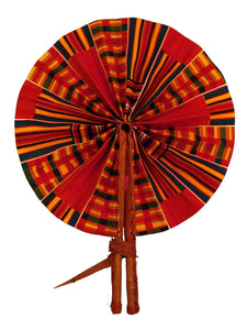 Handmade African Vintage Straw Fan - FN0011 - CeCe Fashion Boutique