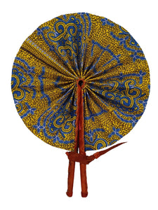 Handmade African Vintage Straw Fan - FN0013 - CeCe Fashion Boutique