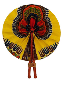 Handmade African Vintage Straw Fan - FN0015 - CeCe Fashion Boutique