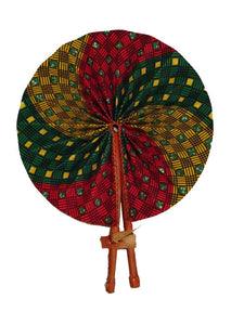 Handmade African Vintage Straw Fan - FN0017 - CeCe Fashion Boutique