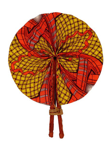 Handmade African Vintage Straw Fan - FN0020 - CeCe Fashion Boutique