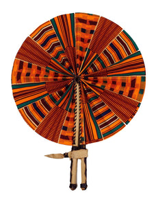 Handmade African Vintage Straw Fan - FN0021 - CeCe Fashion Boutique