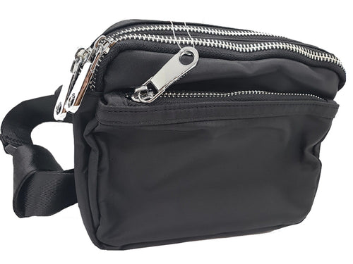 Waterproof Fanny pack - Black - CeCe Fashion Boutique