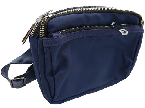 Waterproof Fanny pack - Navy Blue - CeCe Fashion Boutique
