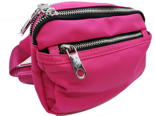Waterproof Fanny pack - Hot Pink - CeCe Fashion Boutique