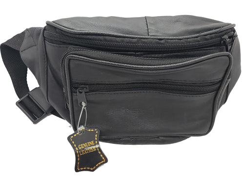Leather Fanny pack - Black - CeCe Fashion Boutique