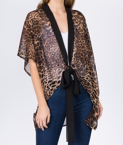 Animal Print Top - CeCe Fashion Boutique