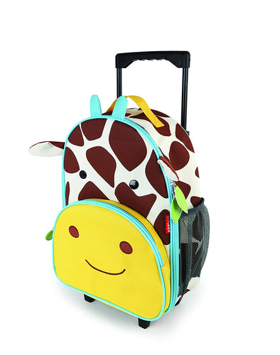 Skip Hop Zoo Kids Rolling Luggage - Giraffe - CeCe Fashion Boutique