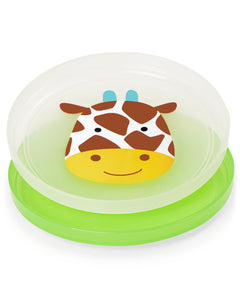 Skip Hop Smart Serve Non-Slip Plates - Giraffe - CeCe Fashion Boutique