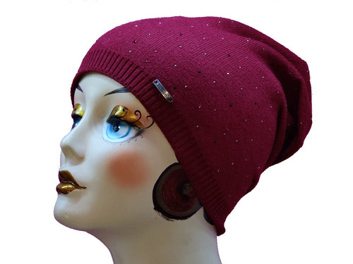 Beaded Beanie (5 Colors) - CeCe Fashion Boutique