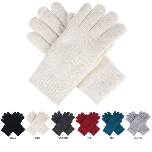 Solid Color Double Layer Glove - CeCe Fashion Boutique
