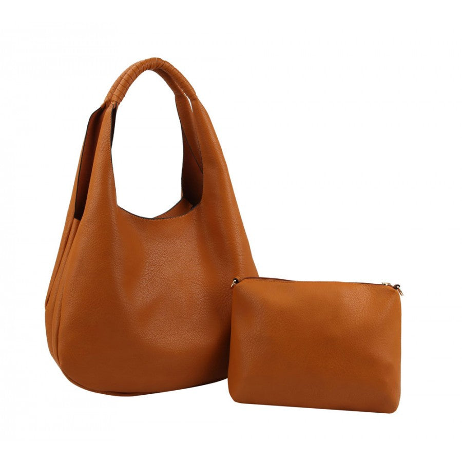 2-in-1 Classic Hobo Bag (3 Colors) - CeCe Fashion Boutique